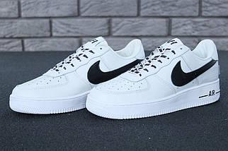 Мужские белые Кроссовки Nike Air Force 1