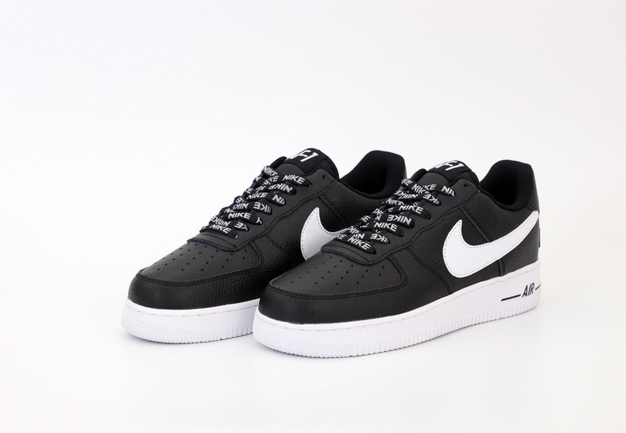 Чоловічі чорні Кросівки Nike Air Force