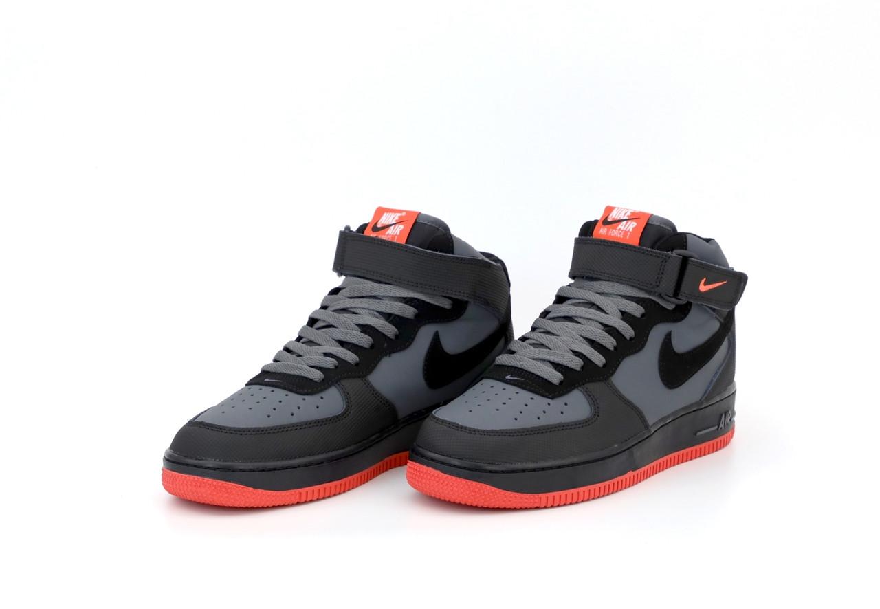 Чоловічі чорні Кросівки Nike Air Force 1