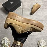 Nike Air Force 1 Sage Low Club Gold (Коричневый), фото 2