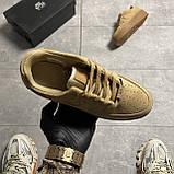 Nike Air Force 1 Sage Low Club Gold (Коричневый), фото 3