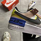 Nike Air Force Shadow Barely Volt (Білий), фото 5