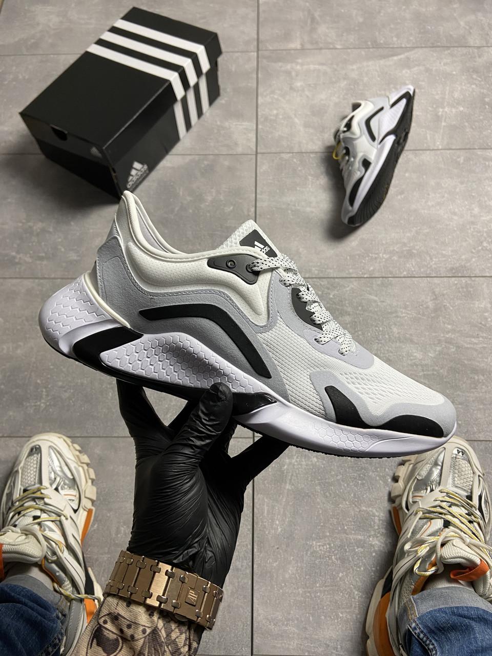 Adidas Alphabounce Instinct White Grey (Білий)