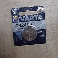 Дискова батарейка VARTA Cell Lithium 3V CR2450 (560mAh) (C1)