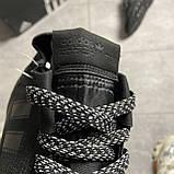 Adidas Nite Jogger Triple Black (Чорний), фото 2