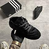 Adidas Nite Jogger Triple Black (Чорний), фото 4