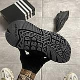 Adidas Nite Jogger Triple Black (Чорний), фото 3