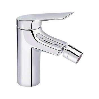 Однорычажный латунный смеситель для биде цвет хром Q-tap Elegance CRM 001A