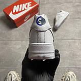 Nike Air Force 1 LX Chrome Swooshes White (Белый), фото 3