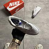 Nike Air Force 1 LX Chrome Swooshes White (Белый), фото 4