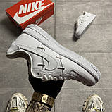 Nike Air Force 1 LX Chrome Swooshes White (Белый), фото 5