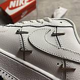 Nike Air Force 1 LX Chrome Swooshes White (Белый), фото 6
