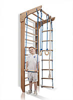 Детская шведская стенка деревянная бук «Bambino 2-220»