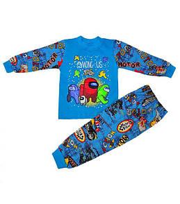 Дитяча піжама для хлопчика з малюнком Among Us кулір