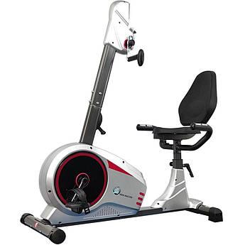 Магнитный горизонтальный велотренажер для реабилитации для рук и ног USA Style Iron Master 511rm