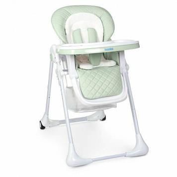 Классический стульчик для кормления, регулируется высота и спинка зеленый стул для кормления ребенка