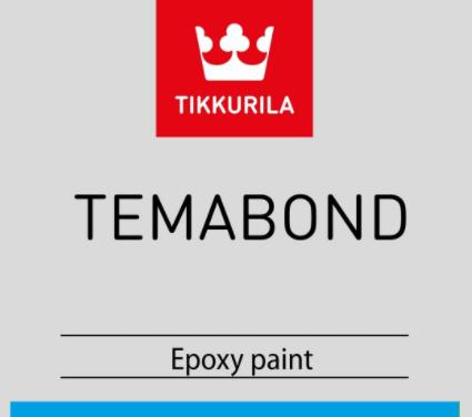 Краска Темабонд ВГ 200 Tikkurila Temabond WG 200 металлик