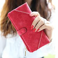Жіночий гаманець з кнопкою Модель 04031, фото 2