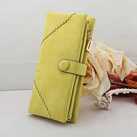 Жіночий гаманець з кнопкою Модель 04031, фото 3