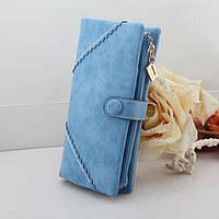 Жіночий гаманець з кнопкою Модель 04031, фото 4
