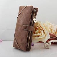 Жіночий гаманець з кнопкою Модель 04031, фото 5