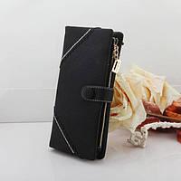 Жіночий гаманець з кнопкою Модель 04031, фото 6