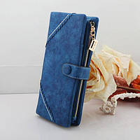 Жіночий гаманець з кнопкою Модель 04031, фото 7