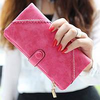 Жіночий гаманець з кнопкою Модель 04031, фото 8