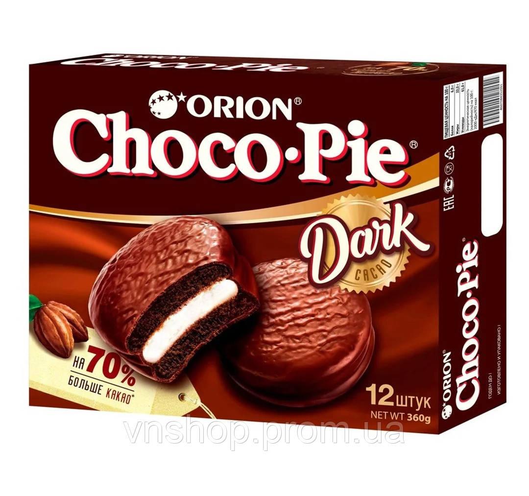 Пирожное Orion ChocoPie Dark Cacao (12шт.)