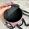 Блискучий жіночий міні рюкзак, фото 3