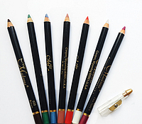 Стойкий карандаш для губ и глаз с точилкой Miss Madonna