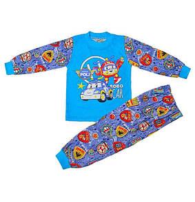Дитяча піжама для хлопчика з малюнком Robo car Poli кулір