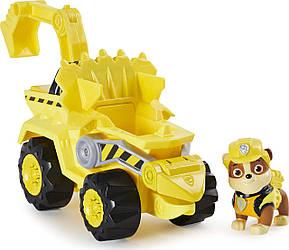 Игровой набор Paw Patrol спасательный Дино автомобиль Крепыша Джунгли  оригиналот Spin Master