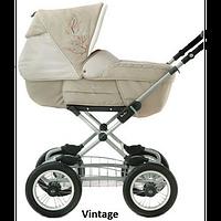 Коляска универсальная Silver Cross Sleepover Deluxe vintage, коляска-трансформер, (на раме Classic)