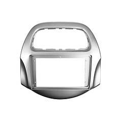 """Перехідна рамка Lesko 9"""" Gray для автомобілів Cheewrolet Daewoo Matiz, Spark, Baic, Beat 2018+ CH 029N"""