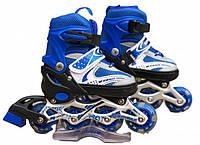 Роликовые коньки раздвижные In Lin Skate 129B