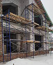 Будівельні рамні риштування комплектація 2 х 9 (м)
