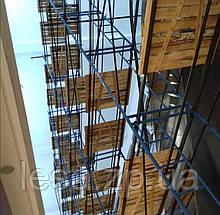 Будівельні рамні риштування комплектація 2 х 6 (м)