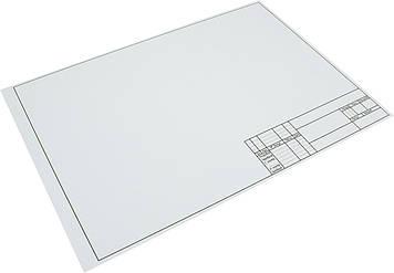 Ватман біл. з рамкою A3 200г/м2/облдрук/(100)