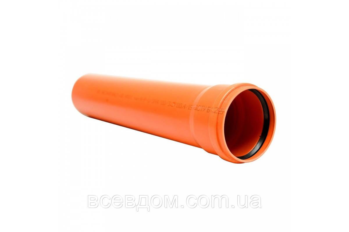 Труба для наружной канализации Мпласт SN4 110х3,2х4000