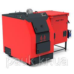 Котел на лушпинні Ретра-3М Bio 25 кВт, щеповий котел з бункером
