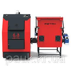 Котел на агровідходах Ретра-3М Bio 40 кВт, щеповий котел з бункером