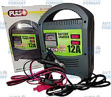 Зарядний пристрій для акб PULSO 12A стрілочний індикатор