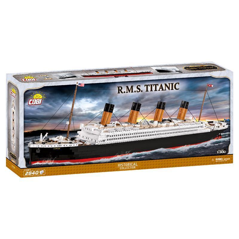 Конструктор COBI Титаник 1:300, 2840 деталей