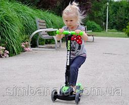 Дитячий триколісний самокат Milly Mally Scooter Magic, Польща