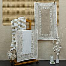 Полотенце хлопок/лен ТМ Речицкий текстиль, Греция, 50х90 см