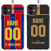 Именной чехол IPhone 11 Барселона