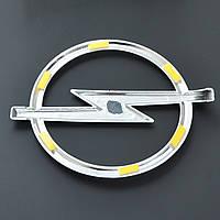 "Эмблема  ""Opel"" 135х164мм\пластик\скотч (Vectra C 05-09 перед)"
