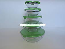 Набор стеклянных судочков FRICO FRU-432, 5 шт., фото 2