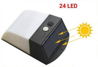 Садовый фонарь Ledertek 24 Led светильник на солнечной батарее